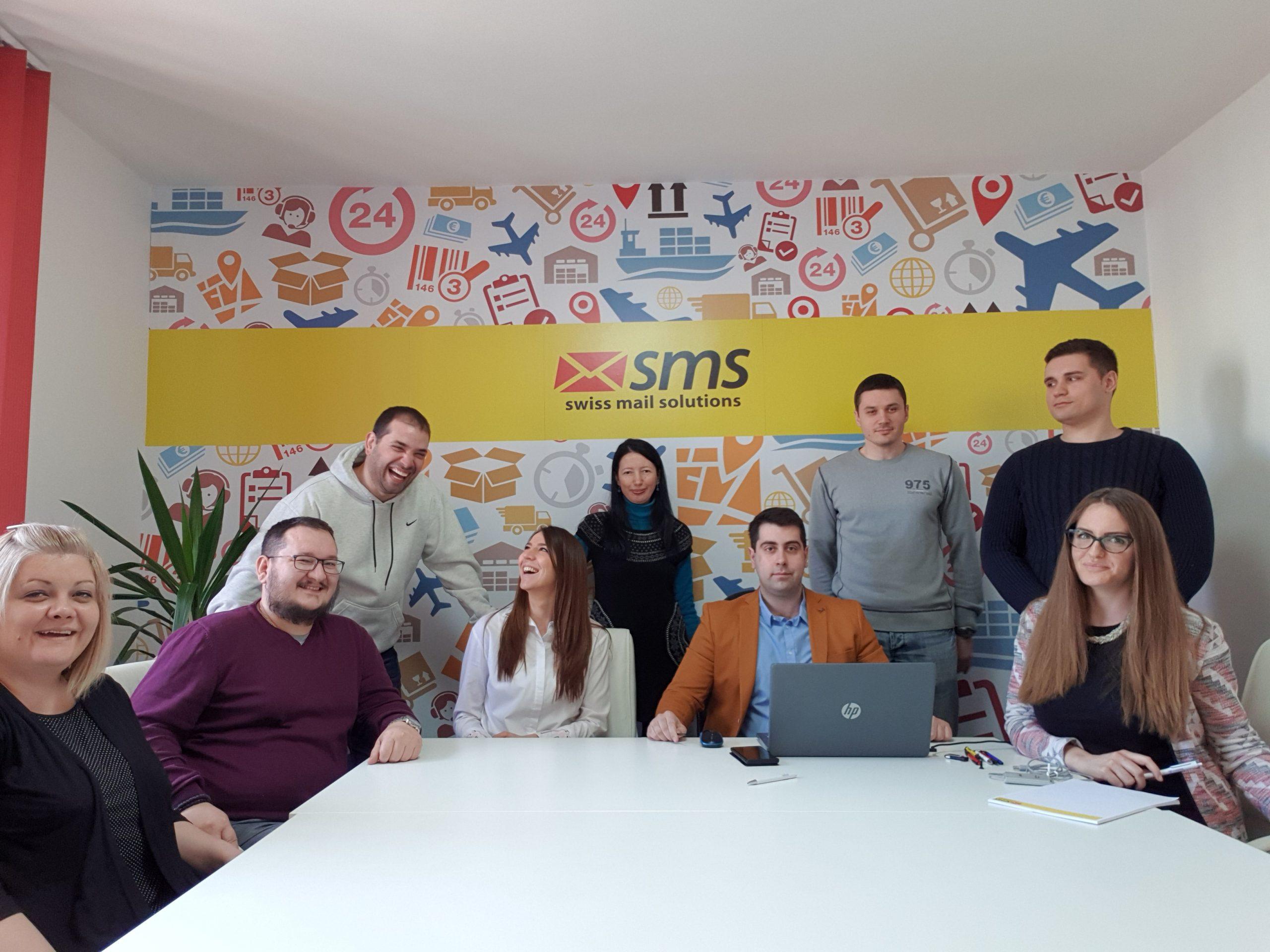 swiss mail solution team - new office new spirit