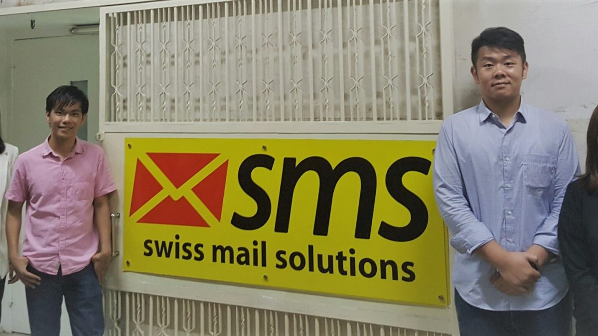 swiss mail solutions starts its activities in Asia - Hong Kong team